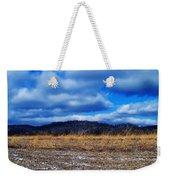 Winter Field Weekender Tote Bag