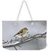 Winter Finch 2010 Weekender Tote Bag