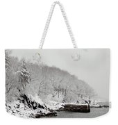 Winter Finery Weekender Tote Bag