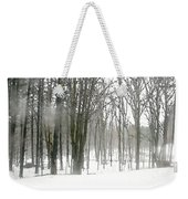Winter Fog Weekender Tote Bag