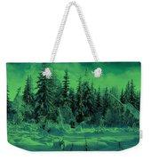 Winter Forest Dream At Dusk Weekender Tote Bag