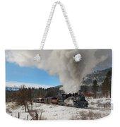Winter Freight Special Weekender Tote Bag