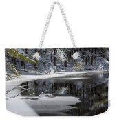 Winter Fresh Weekender Tote Bag