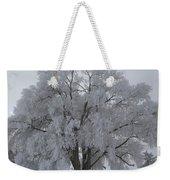 Winter Frost Weekender Tote Bag