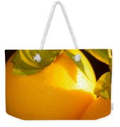 Winter Fruit Weekender Tote Bag