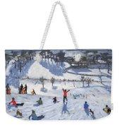 Winter Fun Weekender Tote Bag