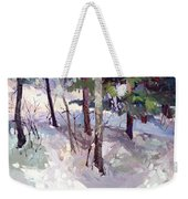 Winter Garden Plein Air Weekender Tote Bag