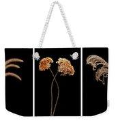 Winter Garden Triptych Weekender Tote Bag