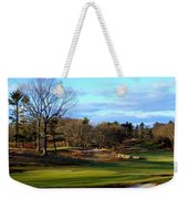 Winter Golf Weekender Tote Bag