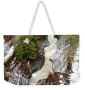Winter Gorge Weekender Tote Bag
