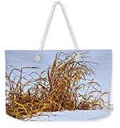 Winter Grasses Weekender Tote Bag