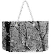 Winter, Ham Burn, Whitley Mill Weekender Tote Bag