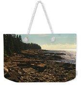 Winter Harbor Maine Weekender Tote Bag