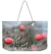 Winter Hawthorn Weekender Tote Bag