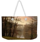 Winter Haze Weekender Tote Bag