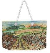 Winter Hedgerow Weekender Tote Bag