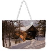 Winter Henniker Weekender Tote Bag
