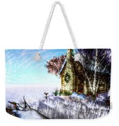 Winter Home Weekender Tote Bag