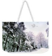 Winter Impressions Weekender Tote Bag