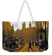 Winter In Amsterdam-1 Weekender Tote Bag