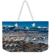 Winter In Arches National Park Weekender Tote Bag