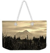Winter In Black N White Weekender Tote Bag