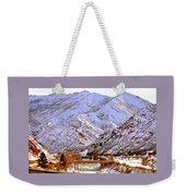 Winter In Grand Junction Weekender Tote Bag