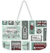 Winter In London Weekender Tote Bag