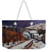 Winter In Luxembourg Weekender Tote Bag