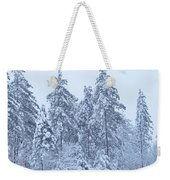 Winter In Maine 2017 Weekender Tote Bag