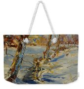 Winter In Mat Weekender Tote Bag
