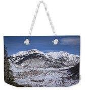 Winter In Silverton Colorado Weekender Tote Bag
