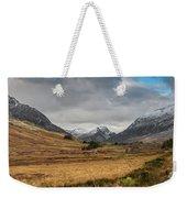 Winter In Snowdonia Weekender Tote Bag