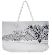 Winter In The Orchard Weekender Tote Bag