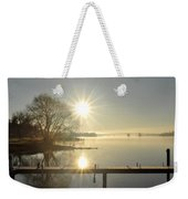 Winter Is Coming Weekender Tote Bag