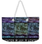 Winter Joy Weekender Tote Bag