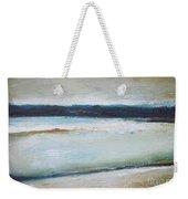 Winter Lake Weekender Tote Bag
