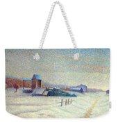 Winter Landscape 1885 Weekender Tote Bag