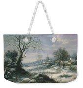 Winter Landscape Weekender Tote Bag by Daniel van Heil