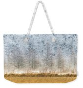 Winter Layers Weekender Tote Bag