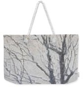 Winter Weekender Tote Bag by Leah  Tomaino