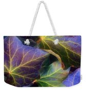 Winter Leaves Weekender Tote Bag