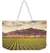 Winter Lettuce Weekender Tote Bag