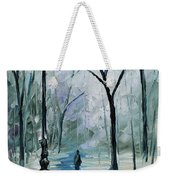 Winter Light Weekender Tote Bag