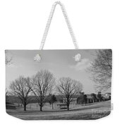 Winter Looking At The Dell Weekender Tote Bag