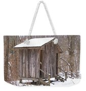 Winter Lookout In Oil Weekender Tote Bag