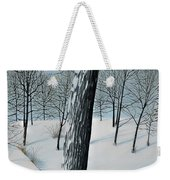 Winter Maple Weekender Tote Bag