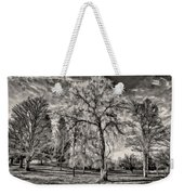 Winter Marches On Polaroid Weekender Tote Bag