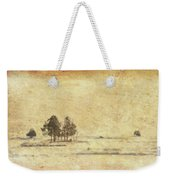 Winter Marsh Weekender Tote Bag