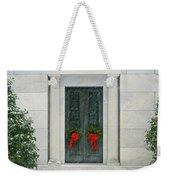 Winter Mausoleum Weekender Tote Bag